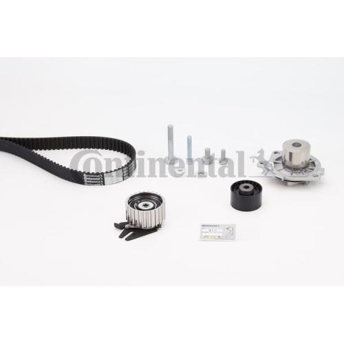 Wasserpumpe + Zahnriemensatz CONTINENTAL CTAM CT1106WP1 FIAT