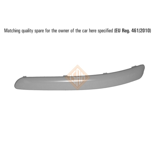ISAM 0904715 trim / protective strip bumper front left for VW Polo