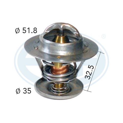 Thermostat, coolant ERA 350027A FORD