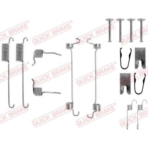 Accessory Kit, brake shoes QUICK BRAKE 105-0751