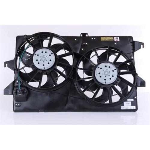 Fan, radiator NISSENS 85483 FORD