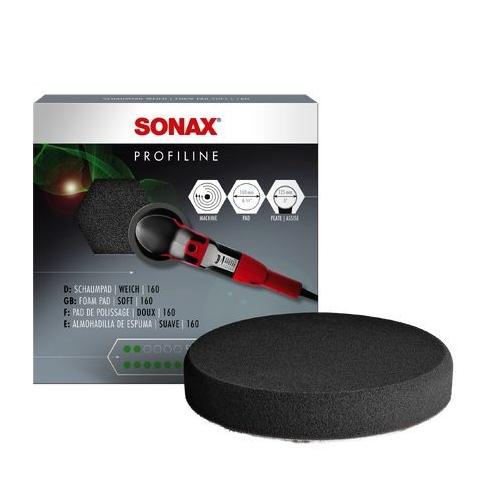 SONAX Aufsatz, Poliermaschine PolierSchwamm grau 160 (extraweich) - AntiHologrammPad 04932410