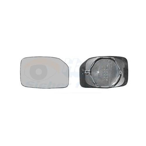 Mirror Glass, outside mirror VAN WEZEL 4009831 * HAGUS * PEUGEOT
