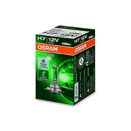 64210ULT-HCB PX26d Glühlampe Glühbirne OSRAM H7 55W//12V Sockelausführung