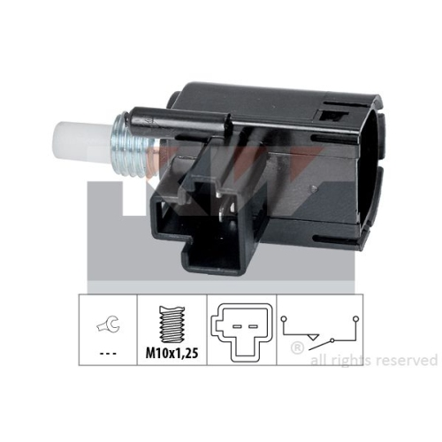 Schalter, Kupplungsbetätigung (GRA) KW 510 257 Made in Italy - OE Equivalent