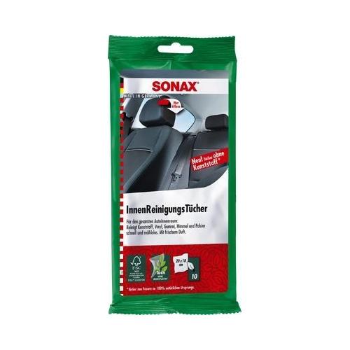 SONAX Reinigungstücher Innenraumreinigunstücher 10 Stück 04159000