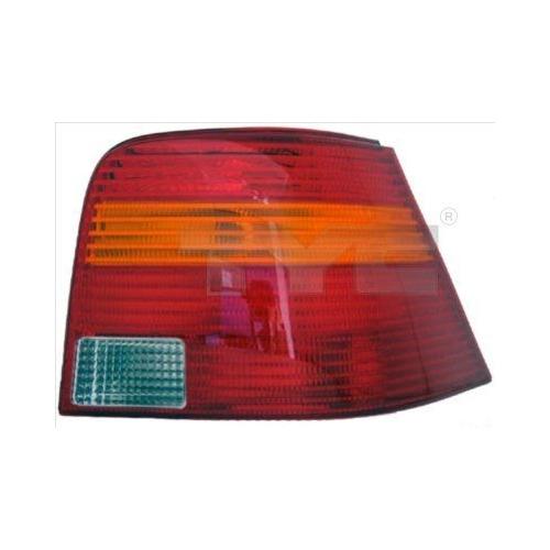 Combination Rearlight TYC 11-0198-01-2 VW