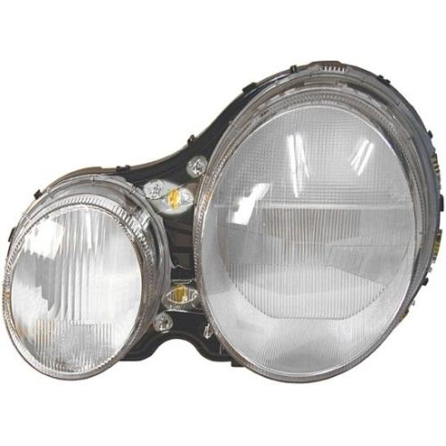 Diffusing Lens, headlight HELLA 9AH 146 736-041 MERCEDES-BENZ