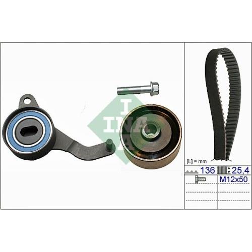 Timing Belt Set INA 530 0047 10 MAZDA OPEL VAUXHALL GENERAL MOTORS
