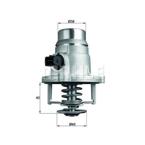BEHR THERMOT-TRONIK Thermostat, Kühlmittel TM 27 105