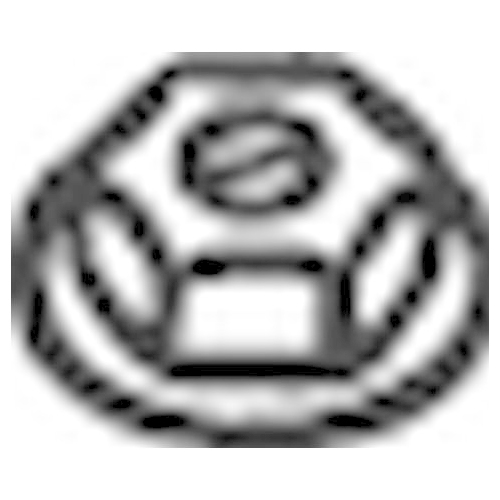 Nut, exhaust manifold BOSAL 258-038 ALFA ROMEO AUDI BMW CHRYSLER CITROËN FIAT VW