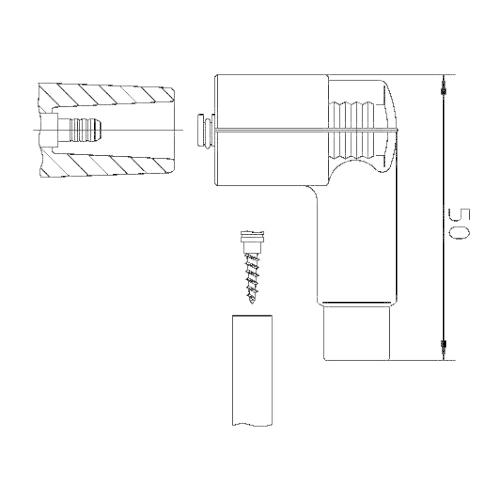 Plug, distributor BREMI 10206W1H