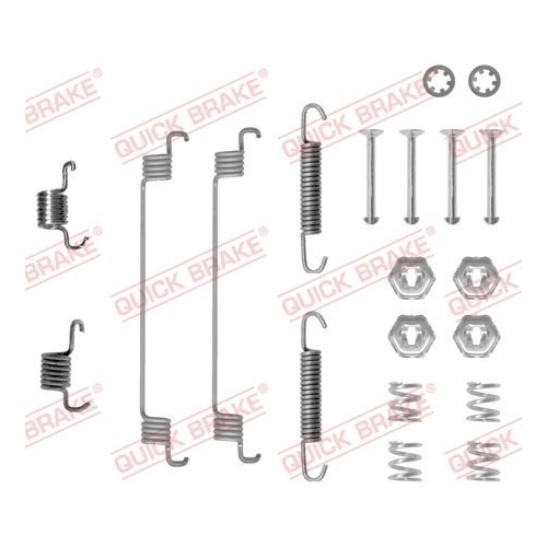 Accessory Kit, brake shoes QUICK BRAKE 105-0651