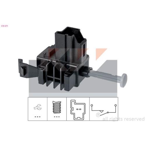 Schalter, Kupplungsbetätigung (GRA) KW 510 271 Made in Italy - OE Equivalent