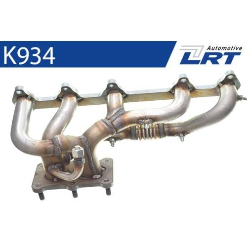 LRT Krümmer, Abgasanlage K934