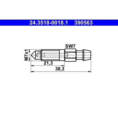 Entlüfterschraube/-ventil ATE 24.3518-0018.1