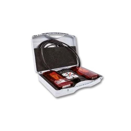 JAEGER 50400522 Universal test case kit for 7/13 pole trailer lighting