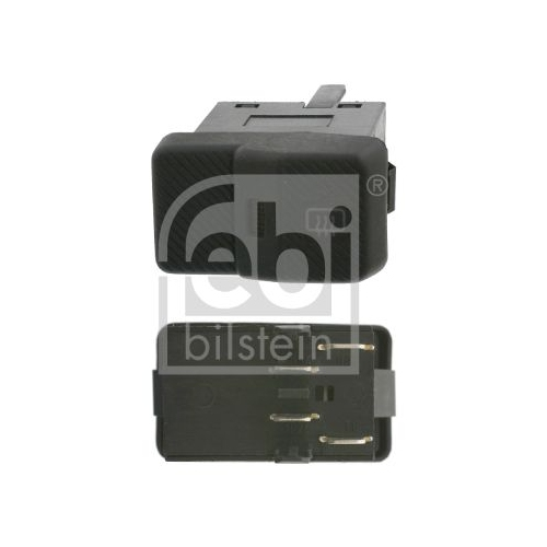 FEBI BILSTEIN Switch, rear windscreen heating 17002