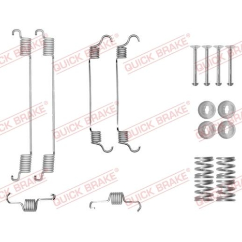 Accessory Kit, brake shoes QUICK BRAKE 105-0034
