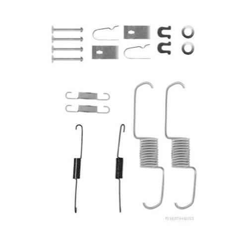 Accessory Kit, brake shoes HERTH+BUSS JAKOPARTS J3564004