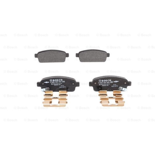 BOSCH Brake Pad Set, disc brake 0 986 494 634