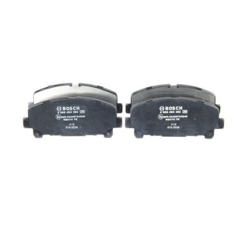 Bremsbelagsatz Bremsklotz Bremsklötze Bremse Bremsen Q-PARTS24 VA Bremssystem