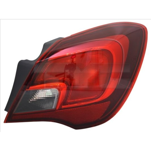 Combination Rearlight TYC 11-12832-01-2 OPEL