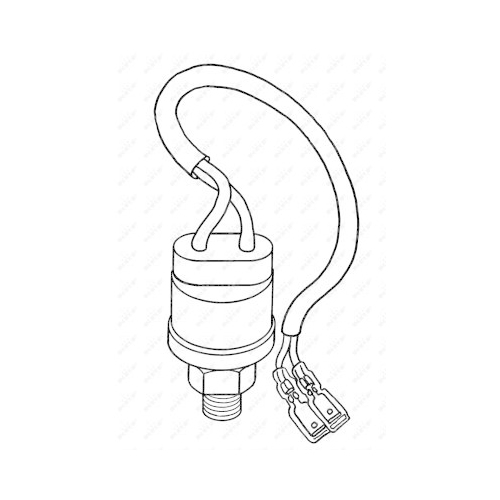 Pressure Switch, air conditioning NRF 38907 EASY FIT MERCEDES-BENZ
