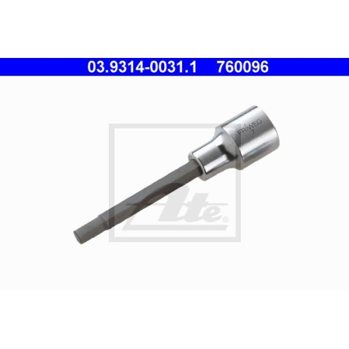 Steckschlüsseleinsatz ATE 03.9314-0031.1