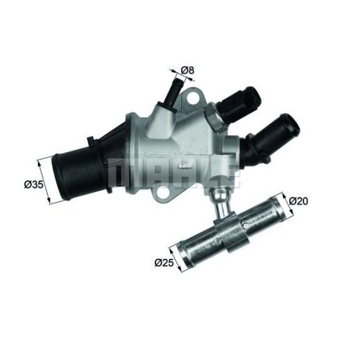 Thermostat, coolant BEHR TI 157 88 ALFA ROMEO FIAT LANCIA