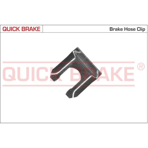 Holding Bracket, brake hose QUICK BRAKE 3206 FIAT FORD OPEL SAAB CHEVROLET