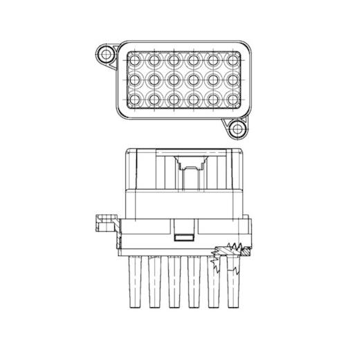 Regulator, passenger compartment fan MAHLE ABR 95 000P BEHR *** PREMIUM LINE ***