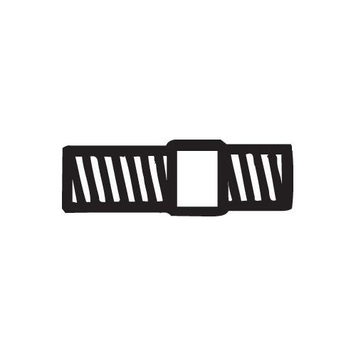 Schraube, Abgasanlage BOSAL 258-948 OPEL VOLVO