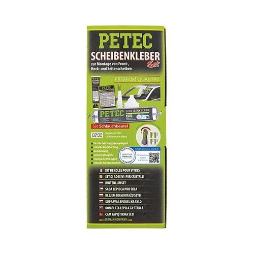 Scheibenklebstoff PETEC 83433 SCHEIBENKLEBER-SET, SCHLAUCHBEUTEL