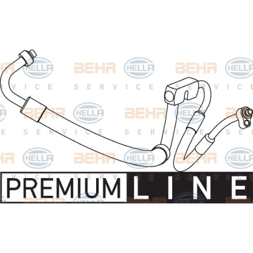 High-/Low Pressure Line, air conditioning HELLA 9GS 351 337-051 FORD