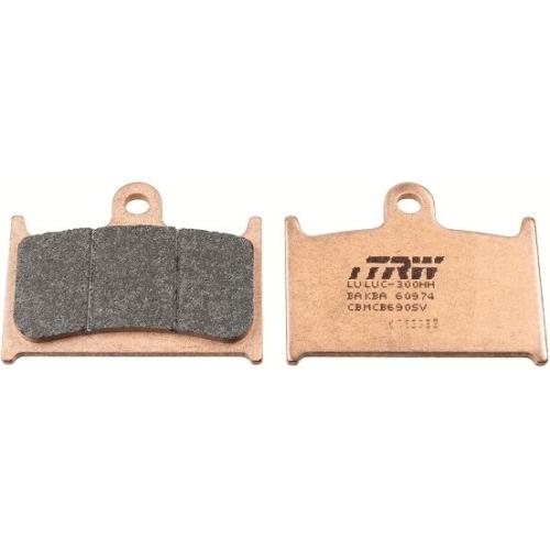 Brake Pad Set, disc brake TRW MCB690SV Sinter Street
