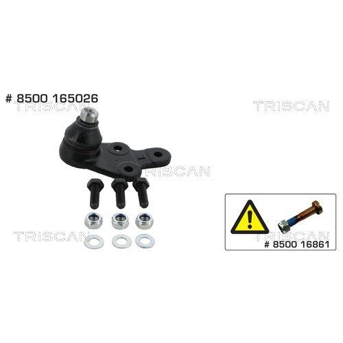 Ball Joint TRISCAN 8500 165026