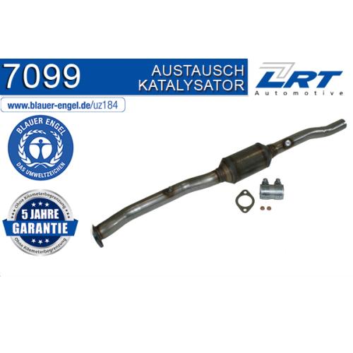 """Katalysator LRT 7099 ausgezeichnet mit """"Der Blaue Engel"""" AUDI VW"""