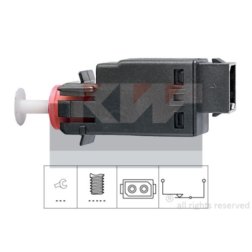 Brake Light Switch KW 510 058 Made in Italy - OE Equivalent BMW