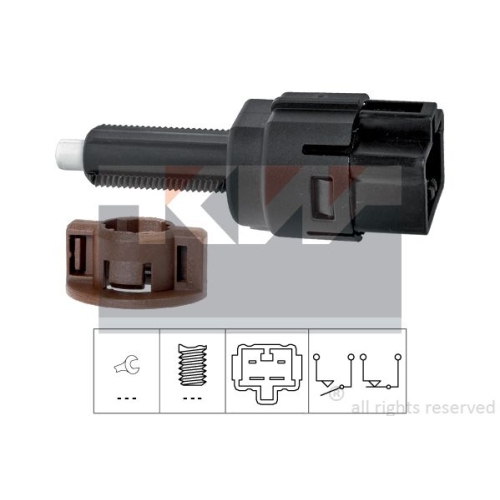 Brake Light Switch KW 510 261 Made in Italy - OE Equivalent HONDA ACURA