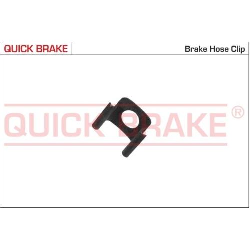 Halter, Bremsschlauch QUICK BRAKE 3223 MERCEDES-BENZ