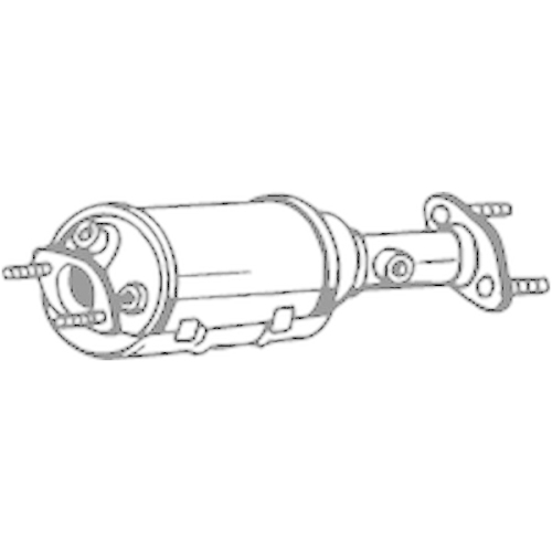 BOSAL Soot/Particulate Filter, exhaust system 095-214