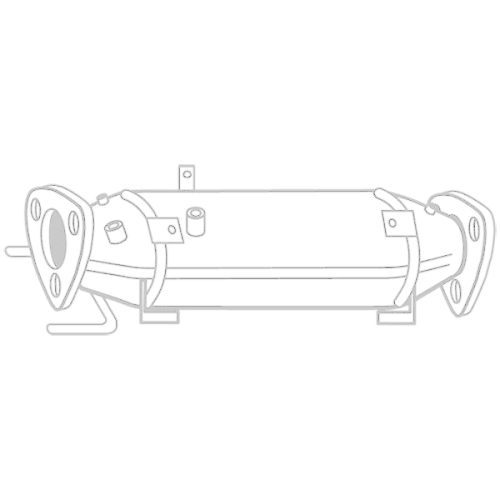 Soot/Particulate Filter, exhaust system WALKER 93167 EVO S IVECO