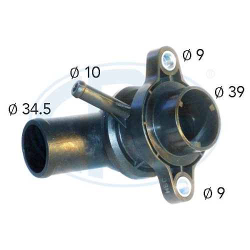 Thermostat, coolant ERA 350382A GENERAL MOTORS