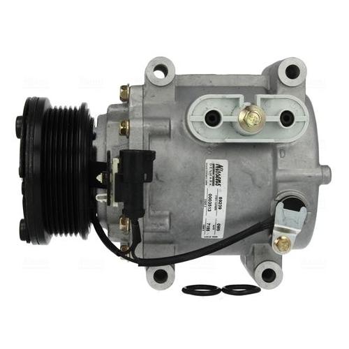 Compressor, air conditioning NISSENS 89239 JAGUAR
