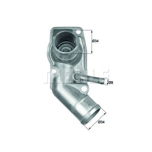 BEHR THERMOT-TRONIK Thermostat, coolant TI 213 92D