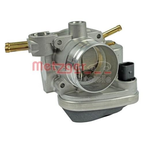 Throttle body METZGER 0892129 OE-part VAG