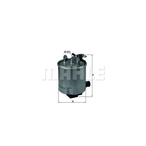 Kraftstofffilter MAHLE KL 440/4 NISSAN