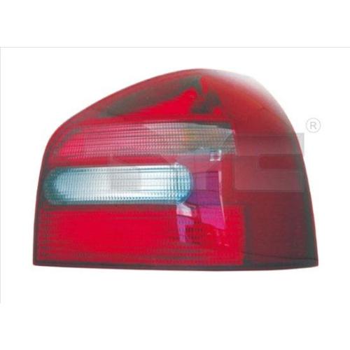 Combination Rearlight TYC 11-0204-01-2 AUDI