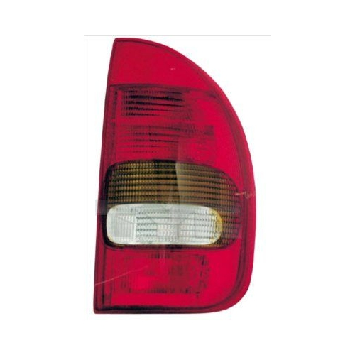 Combination Rearlight TYC 11-0378-01-2 OPEL